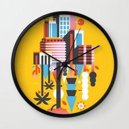 Natural Recall · Green Support Wall Clock
