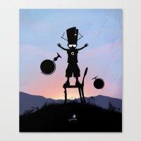 Galactu s Kid Canvas Print