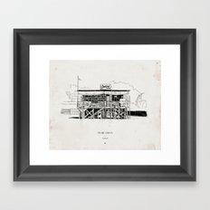 Tigre Delta: Castrol Framed Art Print