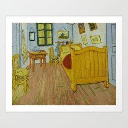 The Bedroom by Vincent van Gogh Art Print
