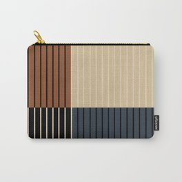 Color Block Line Abstract I Carry-All Pouch