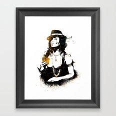 Poker Framed Art Print