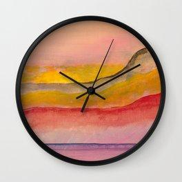 Abstract A02 Wall Clock