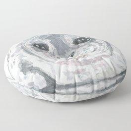 Big baby seal Floor Pillow