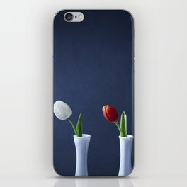 Tulips in Bud Vases iPhone Skin