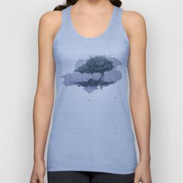 Lonely tree Unisex Tank Top