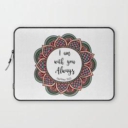 Matthew 28:20 Laptop Sleeve