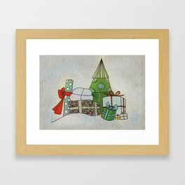 Advent Calendar - Day 24 Framed Art Print