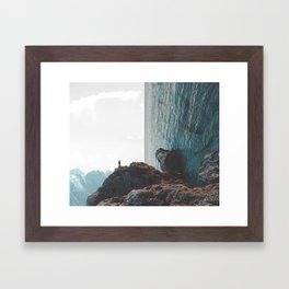 Observing Beauty Framed Art Print
