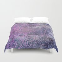 boho Duvet Covers featuring Boho Deco by cafelab
