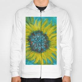 Sunflowers on Turquoise II Hoody