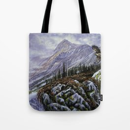 Redtail Hunter Tote Bag