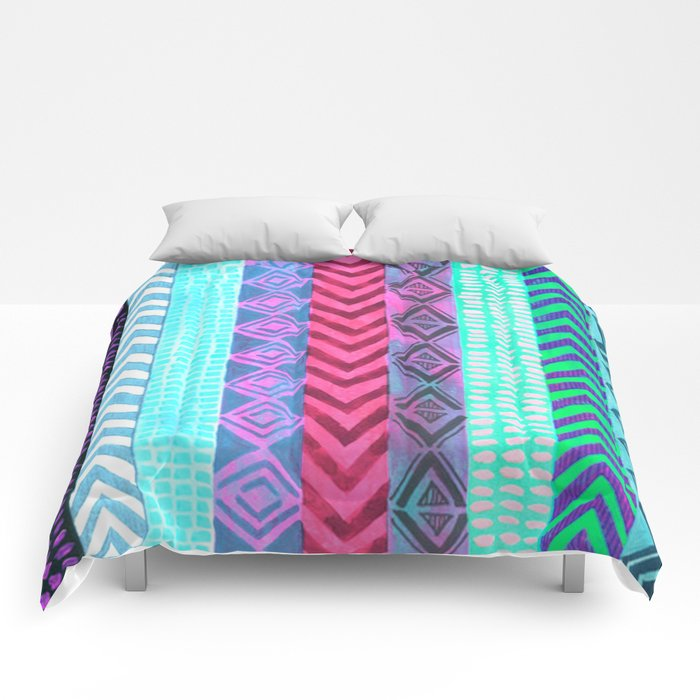 Tribal Pattern 04 Comforters