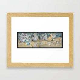 Rise of the Emperabbit Framed Art Print