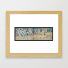 Rise of the Emperabbit Framed Art Print