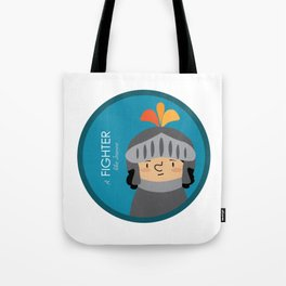 A Fighter like Jeanne d'Arc Tote Bag