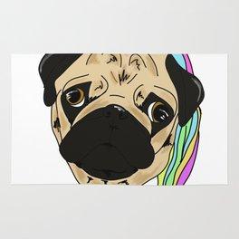 Unicorn Pug Rug