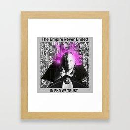 PKD Framed Art Print