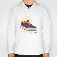 vans Hoodies featuring Man I Need Vans - Classic Sneaker Icon by Dave Conrey