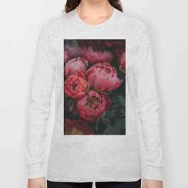 peonies #society6 #decor #buyart Long Sleeve T-shirt