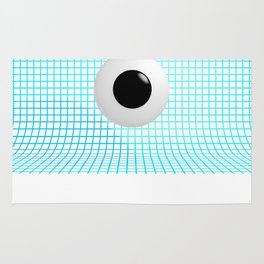 Clear Eye - Graph Paper Rug