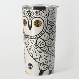 Hypno Owl Travel Mug