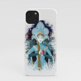 Snow Maiden iPhone Case