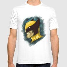 Wolverine Mens Fitted Tee White MEDIUM