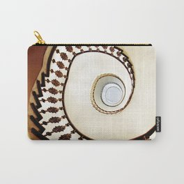 Spiral staircase in warm colours Carry-All Pouch