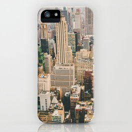 NEW YORK CITY II iPhone Case