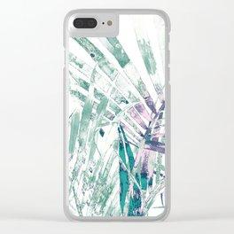 Jungle theme Clear iPhone Case