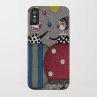seinfeld iPhone & iPod Cases featuring Ball Game (2) by Judith Clay