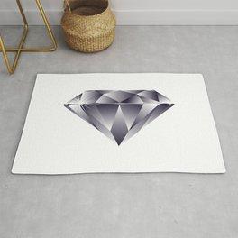 Shiny Diamond Gem Stone with a Sparkle Rug