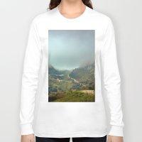 europe Long Sleeve T-shirts featuring Peaks of Europe by Svetlana Korneliuk