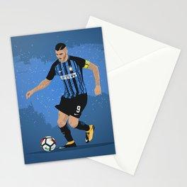 Mauro Icardi Inter Milan Stationery Cards