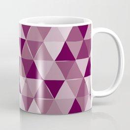 Purple Triangles Coffee Mug