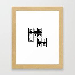 Électro-Cité 1 Framed Art Print