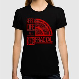 Sacred Geometry-The Seed of life-FRACTAL T-shirt