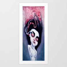 (Below) Melancholy Art Print