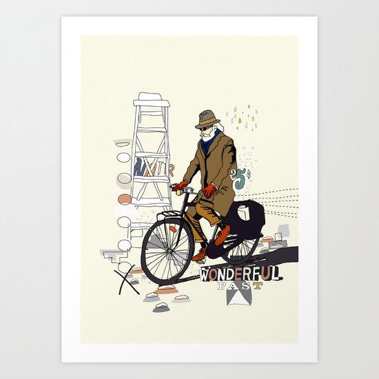 Parisian Dream Art Print