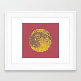 Chinese Mid-Autumn Festival Moon Cake Print Framed Art Print