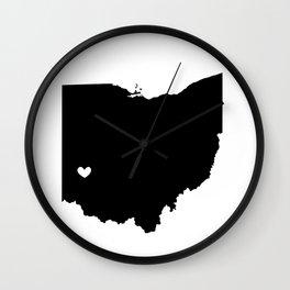 Dayton, Ohio, Home Wall Clock
