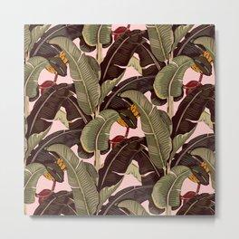 martinique pattern Metal Print