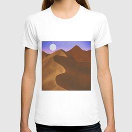 At night in the desert T-shirt