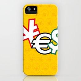 CASH - RUG iPhone Case