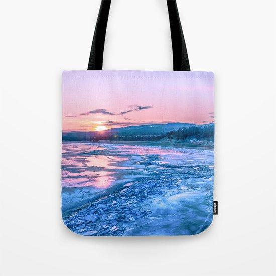 Baikal sunrise Tote Bag