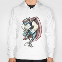 thor Hoodies featuring Thor by Crooked Octopus