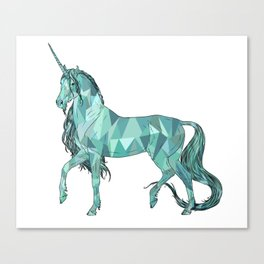 Unicorn prism Canvas Print