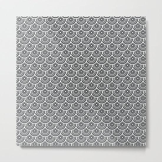 pattern 81 Metal Print