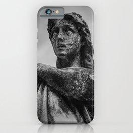 Grave yard angel | Cemetary statue | Cemetary angel | Stone angel | Necromantic iPhone Case